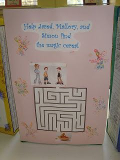 17 best images about reading project on pinterest maze for Cereal box project for school