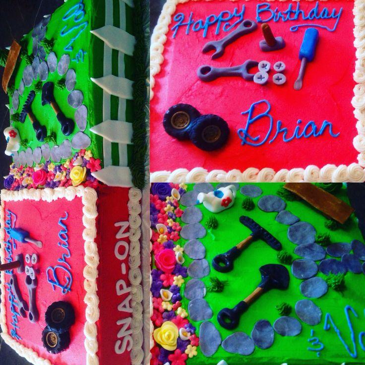 Mechanic & Gardeners cake