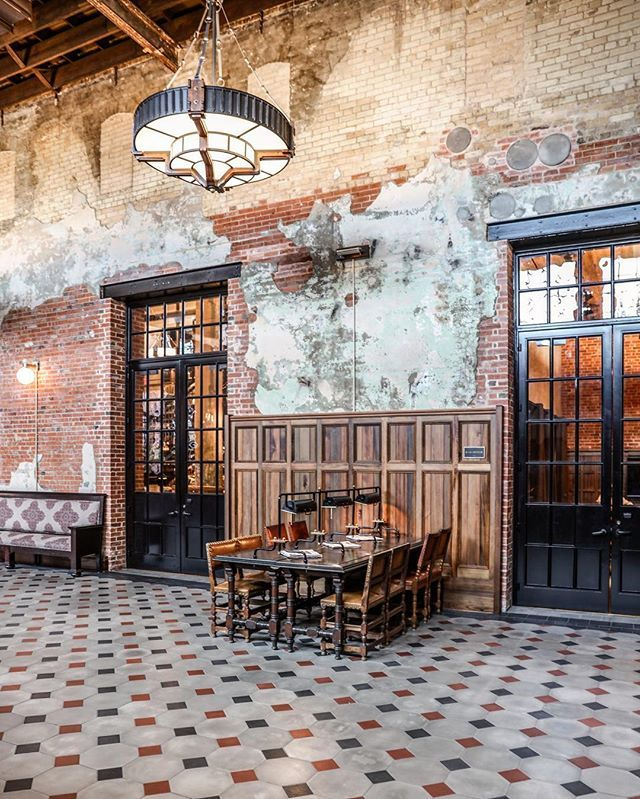 distressed to perfection - at The Hotel Emma in San Antonio by @zioandsons #myhotlist