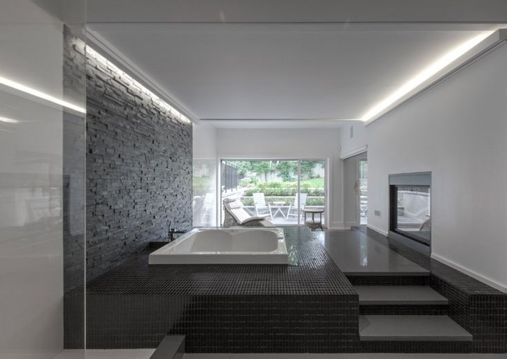 Lovely Relaxation Spot Contemporary House Inspired by a Galleria: The Gallery House in Toronto