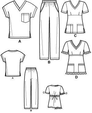 scrubs patterns