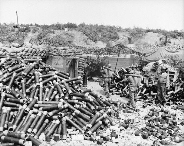 Korean War 1950 - 1953 - Turkish forces in the battle fields of Korea