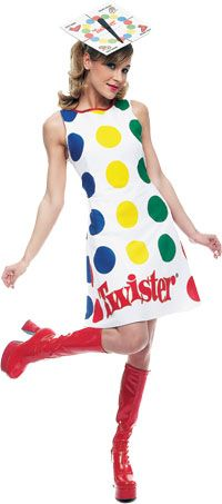 Funny Twister Costume - Twister Game Costumes