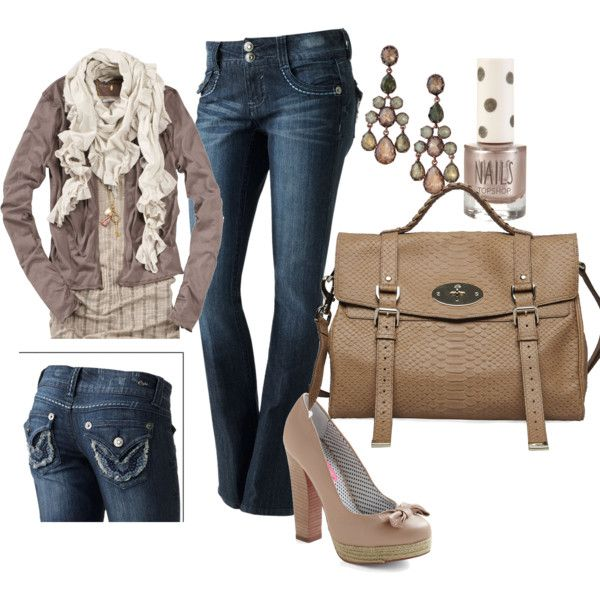 NeutralFall Clothing, Shoes, Fashion, Style, Colors, Jeans, Fall Outfit, Cute Outfit, Bags