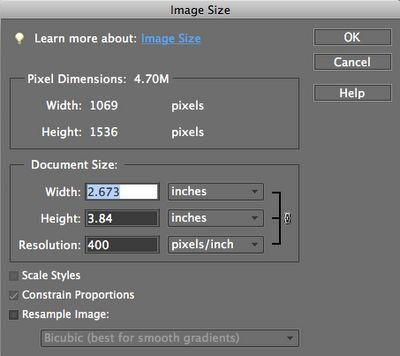 How to make miniature printables using Photoshop.
