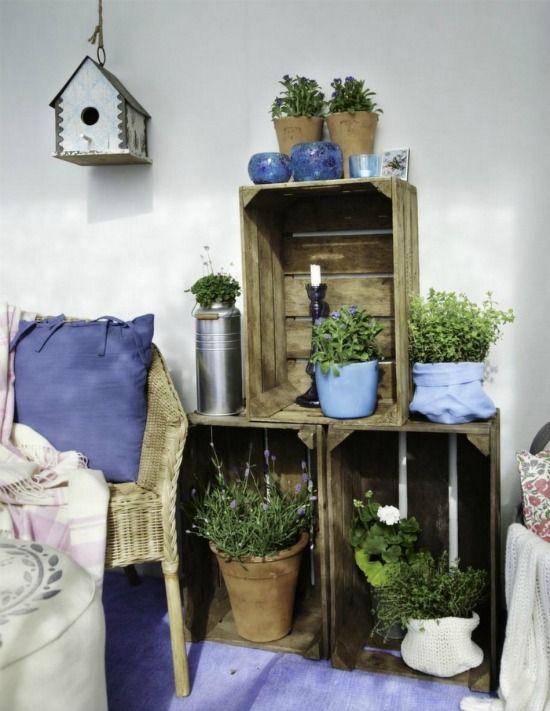 195 les meilleures images concernant caisse jardini re porte plantes bac fleurs sur. Black Bedroom Furniture Sets. Home Design Ideas