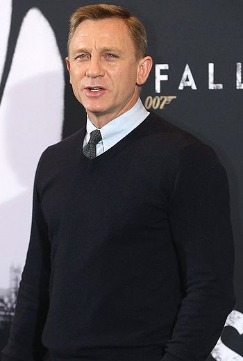 Daniel Craig has gained weight ever since he stopped filming Skyfall!