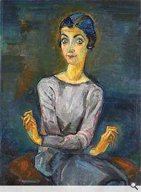 Lilly Steiner: Portrait Lilian Gaertner, 1927. Öl auf Leinwand, 104 x 78 cm; Privatbesitz, Vermittlung Kunsthandel Widder, Wien. Foto: © Kunsthandel Widder, Wien