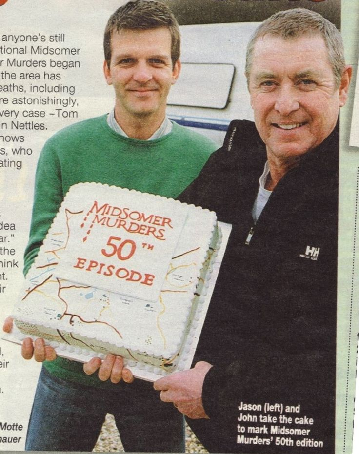 Jason Hughes 50th Episode of Midsomer Murders