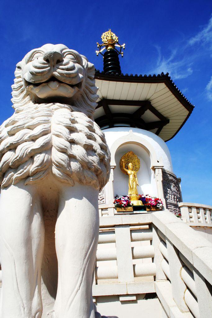 Milton Keynes Peace Pagoda England