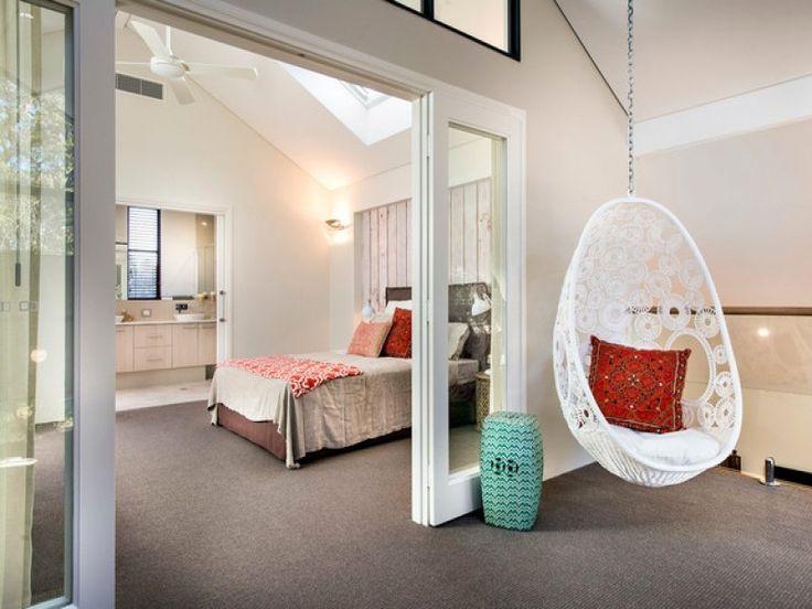 20 stylish bedroom hanging chairs design ideas (pictures) in hanging chair for bedroom The Stylish hanging chair for bedroom Intended for Desire | Home Decorating Ideas