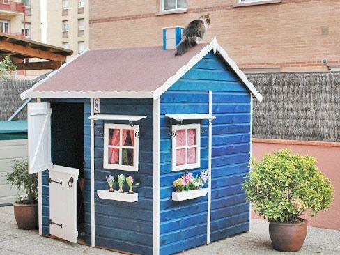 Casa madera nios jardin imgenes de casitas para nios en madera de madera para nios casa madera - Casa de madera infantil ...