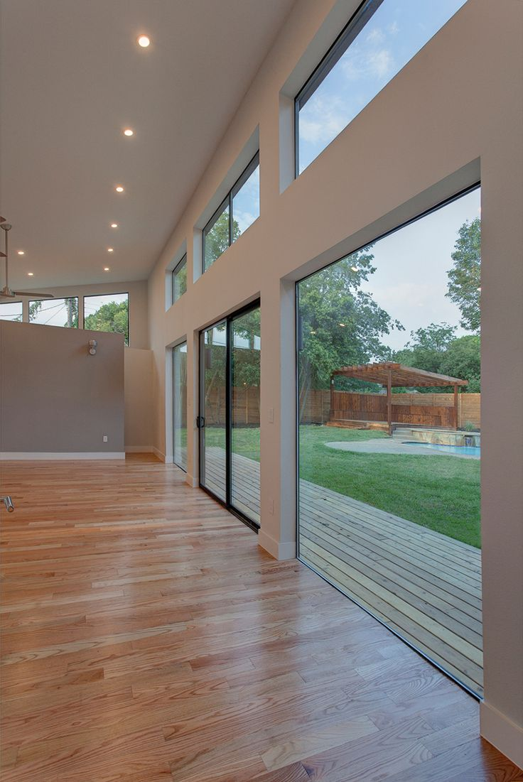And Outdoors Shown Milgard Aluminum Sliding Doors Pinterest
