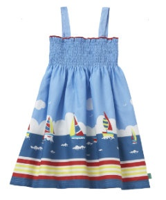 Little Bird Clothing  - nautical scene dress from Mothercare