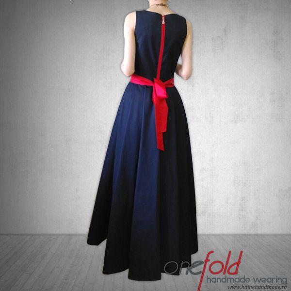 rochie eleganta fara maneci fld