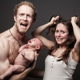 Newborn pictures - LOL!