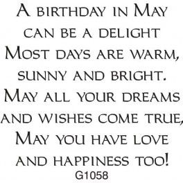 May Birthday Greeting