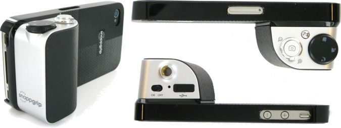 SnappGrip iPhone Camera Addon With Tripod, Bluetooth, Zoom - Top And Bottom Views http://coolpile.com/gadgets-magazine/snappgrip-improve-pics-making-iphone via coolpile.com  #Cameras #ExtendedBattery #Gifts #iPhone #iPhoneCase #iTunes #Photo #coolpile