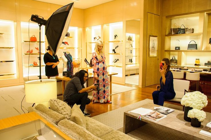 Making of! Louis Vuitton The good Life Magazine