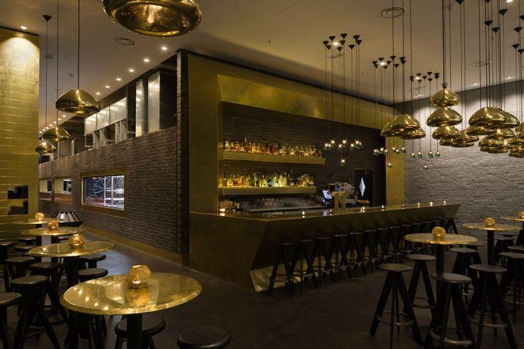 Restaurant design Luxury Interior Mini Bar Design With