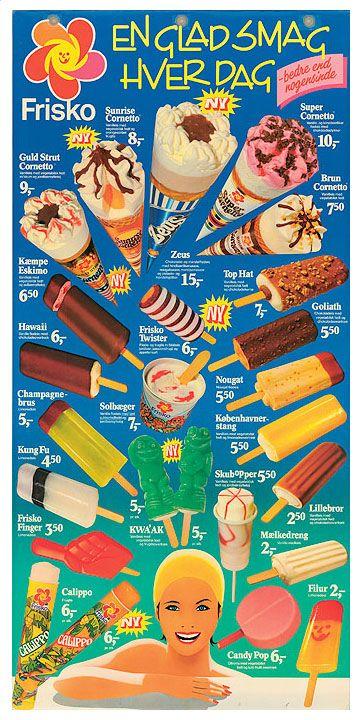 Frisko ice cream 1985
