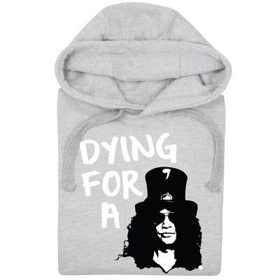 Dying for a Slash (Unisex Hoodie) by HairyBaby
