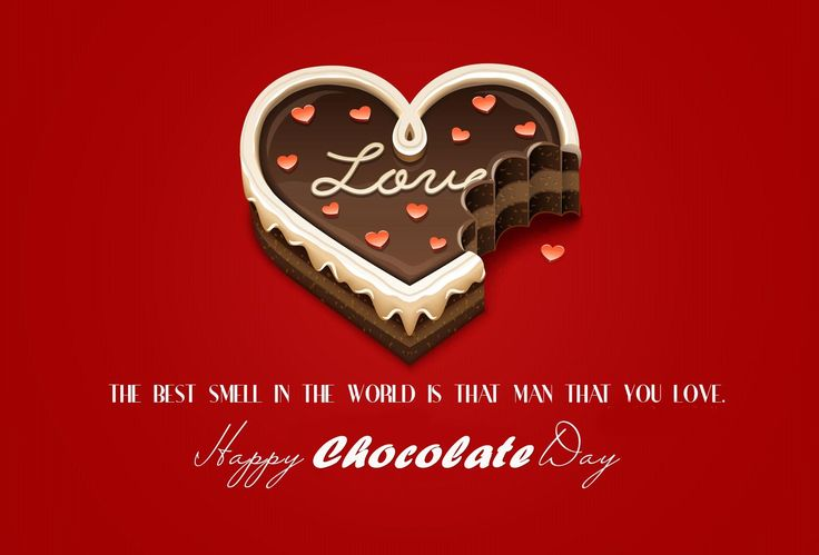Get Happy Chocolate Day Love Quotes for your love girlfriend or boyfriend. Wish them happy chocolate day 2017 with chocolate day shayari.
