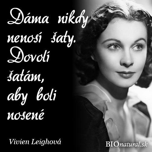 Citát od Vivien Leighovej