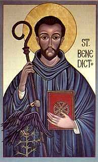 Pray4Us2day #Saint Benedict (Jul. 11) - The original community manager: monastic innovator, patron of Europe and students.