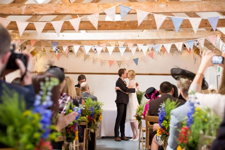 The Green Cornwall in Liskeard, Cornwall is a stunning barn wedding venue that can be as formal or as informal as you want.
