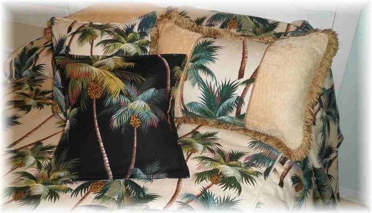 Tropical Bedding and Beach Home Decor Accessories, Tropical Comforters- Polynesiandesigns