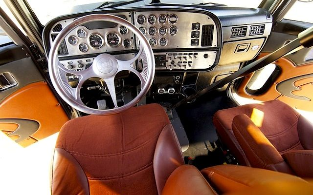 Semi truck interiors for Aftermarket car interior parts
