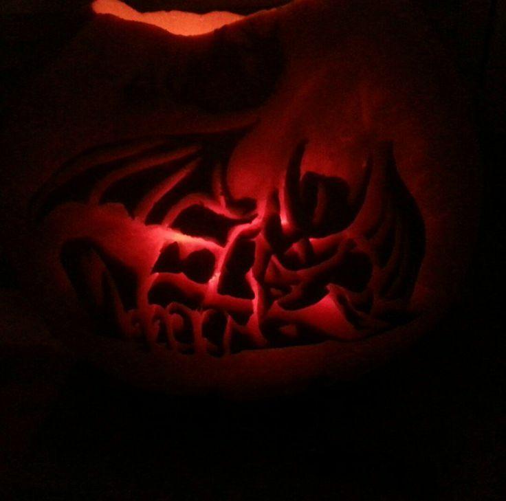 Halloween pumpkin carving.