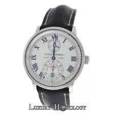 Men's Ulysse Nardin Marine Chronometer 1846 Ref. 263-22 Automatic Steel Watch