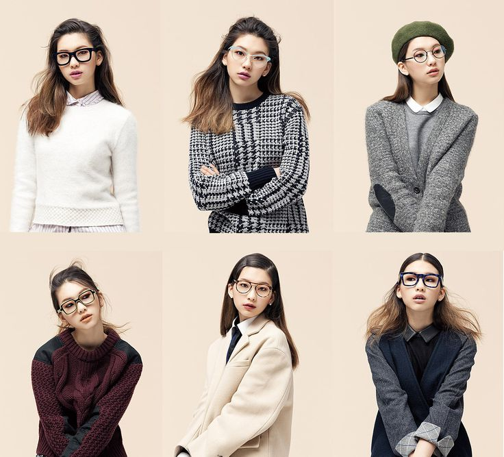 Vogue Girl: Glasses. Model: Kim Jin Kyung