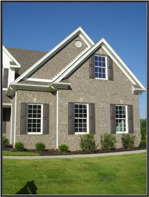 Best Exterior Stone And Brick Images On Pinterest Exterior - Brick home exterior color schemes