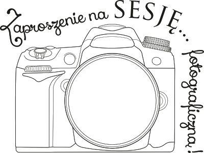 12. Zaproszenie na sesję fotograficzną :)