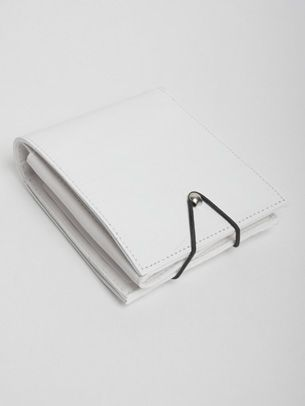 Maison Martin Margiela Cracked Leather Wallet. minimalist cross body bag. minimal, minimalist, accessory, bag