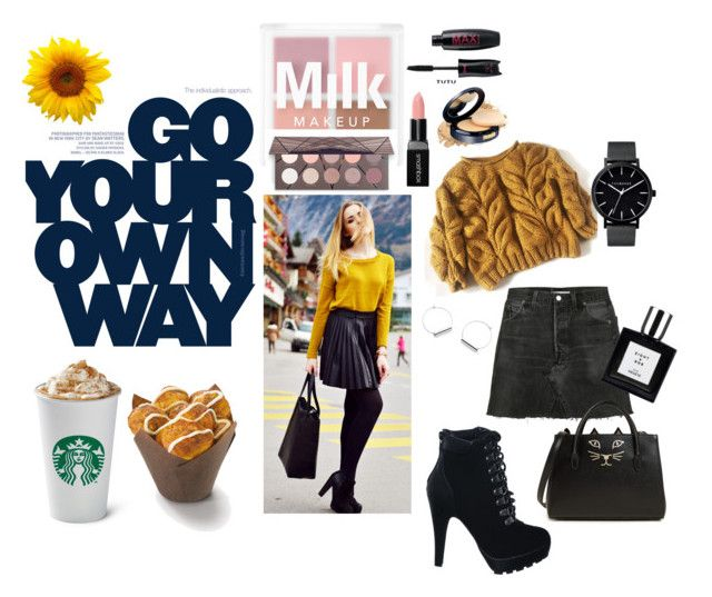 """""""Your own way"""" by catalina-joy on Polyvore featuring Smashbox, RE/DONE and Charlotte Olympia"""