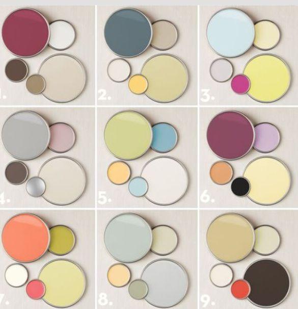 Paint color combos