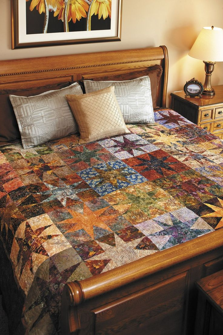 Best of Fons & Porter Batik Quilts - Create paradise with quilts in exotic fabrics! For this book, the editors of Fons and Porter s Love of Quilting magazine have collected their most popular batik quilt patterns for all skill levels. Whether you want to make a small quilt, a bed-size one, or something in between, you''re sure to find plenty to love. There is also an article about how batik fabrics are made. 24 Designs: Under the Sea; Split Rail Fence; Imperial Diamonds; Circles, Circles…