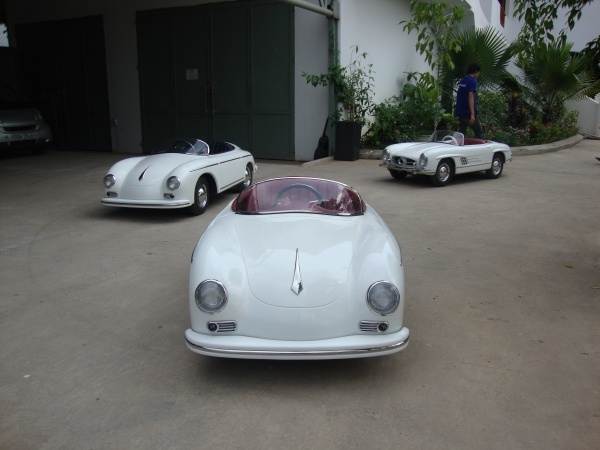 Harrington pedal porsches...