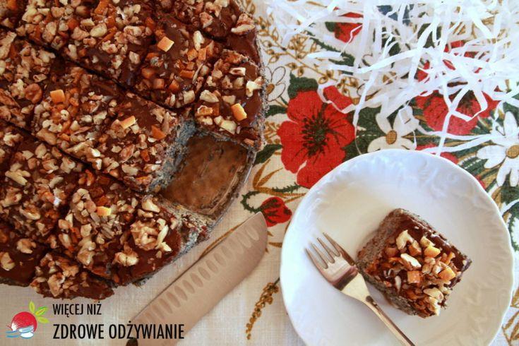 Makowiec – bez glutenu, cukru i pieczenia