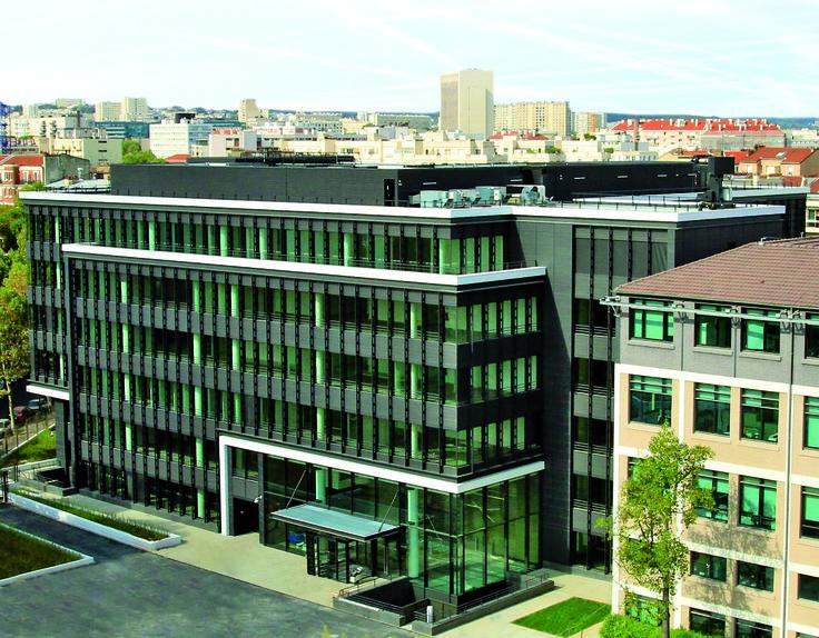 LUMEN - Montrouge (92) - MO: Crédit Agricole Immobilier Entreprise - Architecte: Jean-Michel Wilmotte - Photographe: Concept Immo
