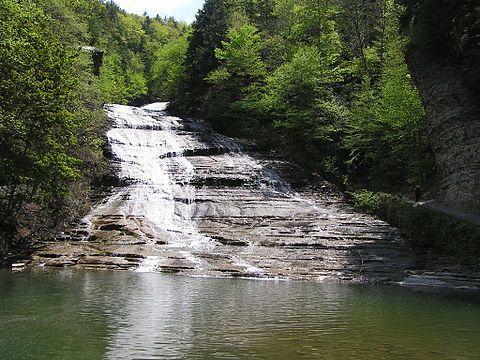 Buttermilk Falls, Buttermilk Falls State Park, near Ithaca, NY
