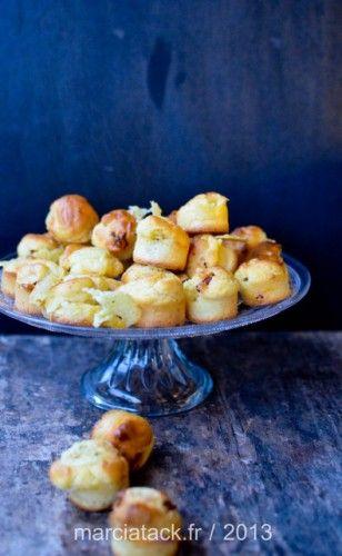 Mini muffins au fromage à raclette et chorizo