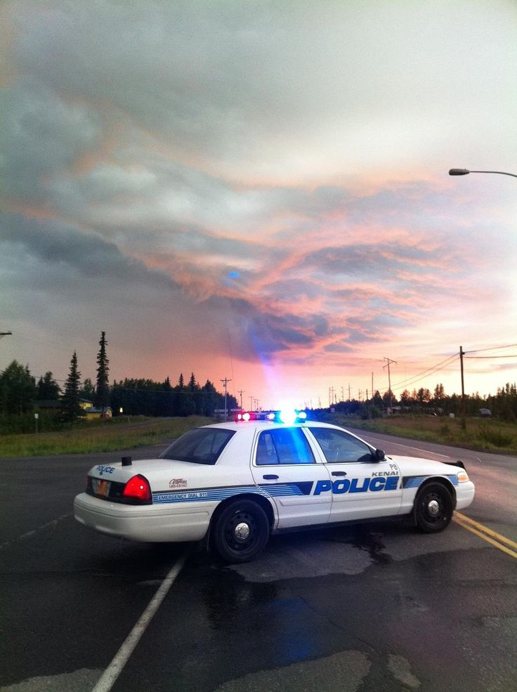 Kenai Police Alaska Ford Crown Vic Police Car Police Cars Police Truck Police