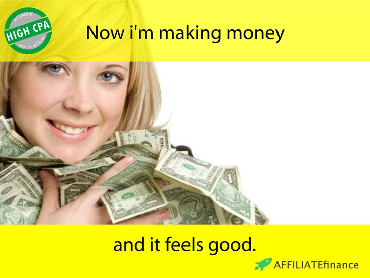 "She is making money! And you can do it, too! Our High CPA Network Monetize Your Traffic! We offer ""Make Money"" products that interest everyone, brand new funnel with high conversion rates and suitable for every website operator! Join now: http://www.affiliate.finance"
