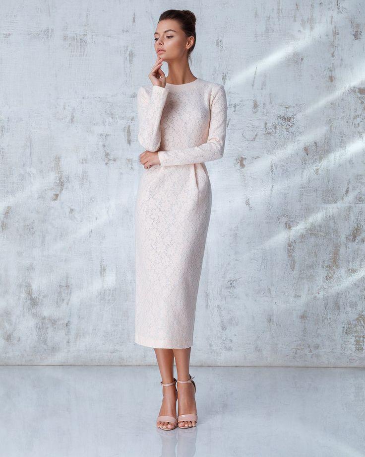 Платье «Лиля» Розовое кружево, Цена — 27 990 рублей