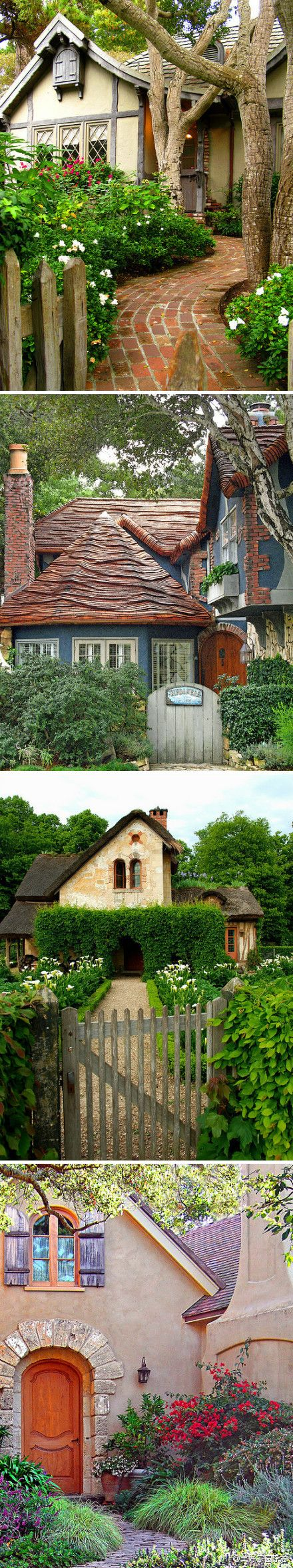 Best Storybook Homes Ideas On Pinterest Fairytale Cottage - Creative redeisgn turning stone cottage modern country home england